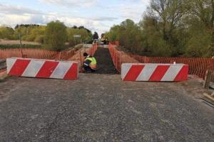 На місці зруйнованого моста на трасі Львів–Луцьк облаштували пішохідний перехід