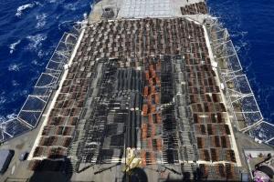 Перехваченное США судно с российским оружием направлялось в Йемен