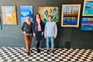 У Таллінні показали картини відомих українських художників