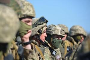 Десантники у зоні ООС відшліфували навички стрільби з артилерії