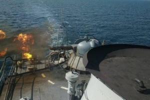 Українські десантники у Чорному морі відпрацювали «бій» і висадку на берег