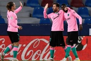 Ла Ліга: «Барселона» не втримала перемогу в матчі з «Леванте»