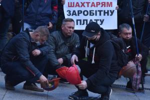 Шахтарі призупинили всеукраїнську акцію протесту – Волинець