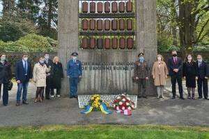 У Гамбурзі українці вшанували пам'ять загиблих у Другій світовій