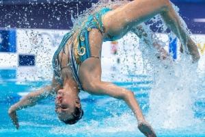 Українська синхронниця Федіна завоювала на Євро «срібло» у довільному соло