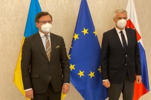 Кулеба запропонував Словаччині провести засідання спільної міжурядової комісії