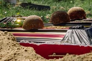 На Житомирщині перепоховали ще 37 солдатів Другої світової