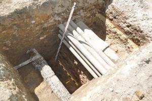 У Львові виявили фрагмент оборонного муру XIV століття