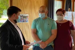 Консул України подякував українській громаді Болоньї за підтримку Віталія Марківа