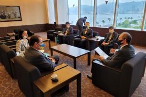 Посол України відзначив внесок голови Асоціації україністів Японії у розвиток українсько-японських зв'язків