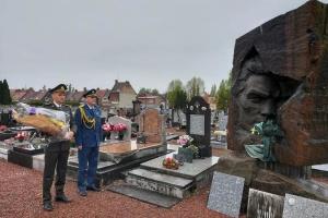 У Франції вшанували українців, загиблих на території країни під час Другої світової війни