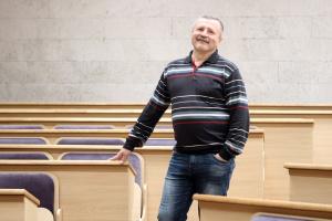 Богдан Рубльов, математик, професор КНУ ім. Т.Шевченка