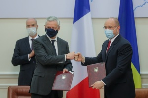 Україна і Франція підписали чотири угоди на понад €1,3 мільярда