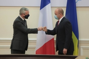 Ukraine, France sign four agreements totaling over EUR 1.3 B