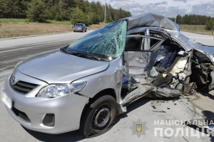 Une collision fait deux morts dans la région de Poltava