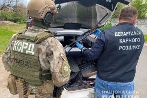 Поліція затримала банду торговців зброєю із зони ООС