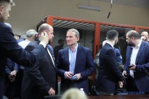 裁判所、親露政治家メドヴェチューク容疑者の自宅軟禁を決定