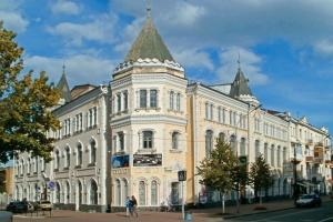 В Чернигове возобновили реставрацию филармонического центра