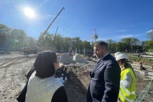 Возведение онкоцентра в Харькове проверили две лаборатории