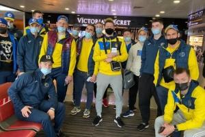 Сборная Украины по хоккею отправилась на турнир в Любляну
