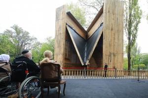 В Бабьем Яру открыли символическую синагогу