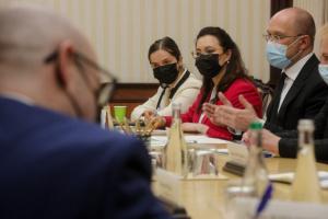 Shmygal y Embajadores de los países del G7 discuten la situación de Naftogaz