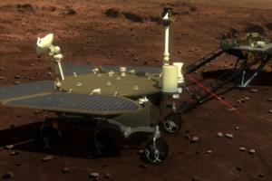 Китай успішно посадив свій марсохід на Червону планету