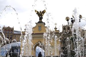 В столице открылся сезон фонтанов