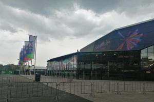 У арены, где проходит Евровидение-2021, пока не работают быстрые дыхательные COVID-тесты