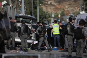 В Иерусалиме автомобиль въехал в толпу