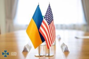 Ukrainian deputy defense minister meets with U.S. delegation