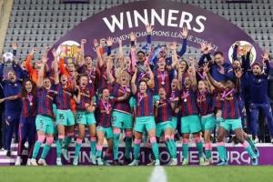 «Барселона» уперше стала переможницею жіночої Ліги чемпіонів УЄФА