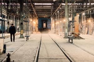 Полиция проводит следственные действия на Киевском электровагоноремонтном заводе