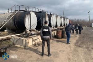 СБУ заблокировала деятельность подпольного нефтеперерабатывающего завода