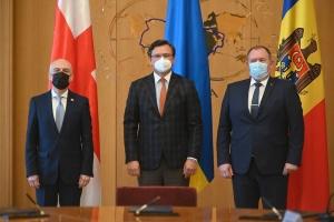 Ucrania, Georgia y Moldavia crean un Trío Asociado para una integración europea exitosa