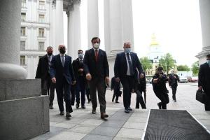 L'Ukraine, la Géorgie et la Moldavie ont créé un trio associé pour réussir leur intégration européenne