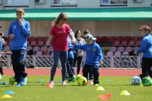 «Так, я можу»: у Черкасах провели інклюзивне тренування для дітей