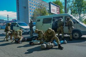 У Вінниці пройшли антитерористичні навчання