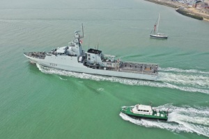 Що відомо про британський військовий корабель, який нині на шляху до Одеси