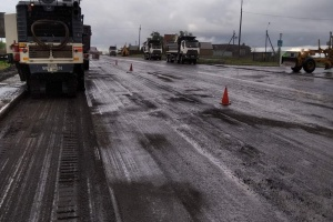 На Донетчине начали капремонт автодороги Кременевка - Ялта