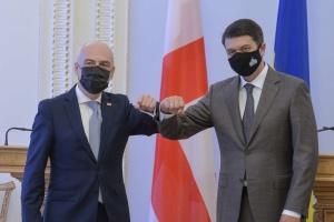 Украина ценит позицию Грузии по временно оккупированным территориям востока и Крыма - Разумков