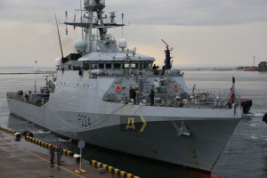 Британський патрульний корабель зайшов у порт Одеси