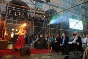 Во львовском храме презентовали художественный проект «Стефаник_150»