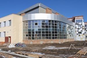 В Полтаве строят спорткомплекс для тренировок олимпийцев