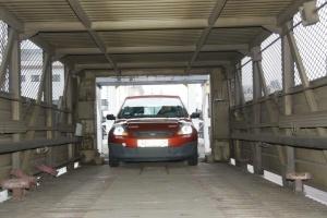 Укрзализныця запустила седьмой автомобилевоз