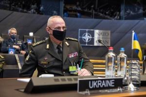 Хомчак на Військовому комітеті НАТО: Росія тримає біля України 80 тисяч особового складу