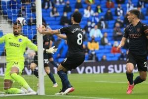 АПЛ: «Ман Сити» проиграл «Брайтону», Зинченко отыграл весь матч