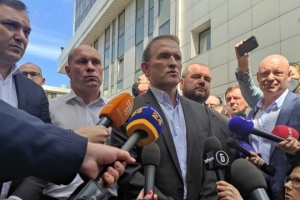 Tribunal examina recursos de apelación contra la medida cautelar dictada a Medvedchuk