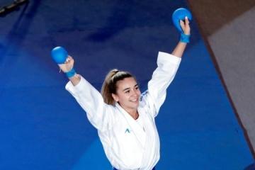 Anzhelika Terliuga gana la Premier League de Karate 1 en Lisboa