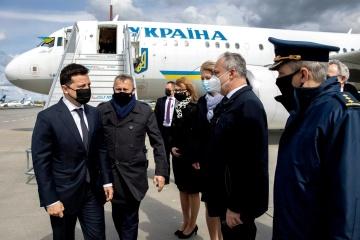 Zelensky est arrivé à Varsovie pour une visite officielle